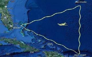 百慕大三角之谜真相破解,既不是飓风也不是黑洞