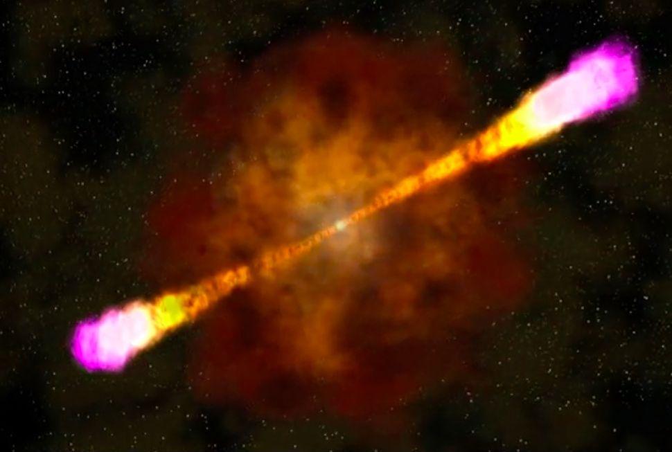 恒星死亡释放出一些有史以来能量最高的光-第1张图片-IT新视野