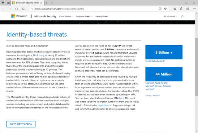 微软研究发现其4400万个帐户使用已泄露的密码-第1张图片-IT新视野