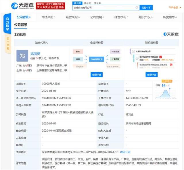 华为成立荣耀终端有限公司,意欲何为?-第1张图片-IT新视野