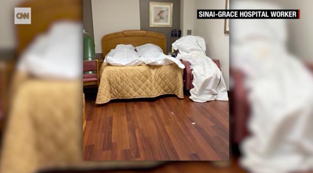 美国医院内部照片曝光,太平间不够用遗体只能堆放在空房或冷柜里-第2张图片-IT新视野