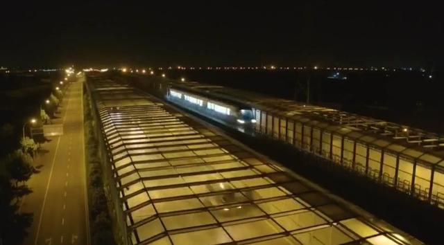 中国第一列商用磁浮2.0版列车成功完成达速测试,时速突破160公里-第1张图片-IT新视野