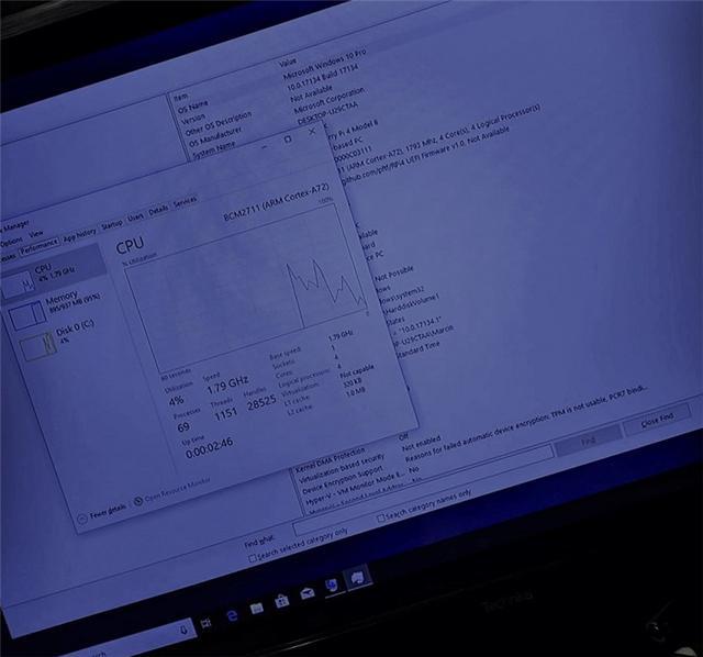 树莓派4刷入Windows 10 ARM,CPU性能被榨干-第2张图片-IT新视野
