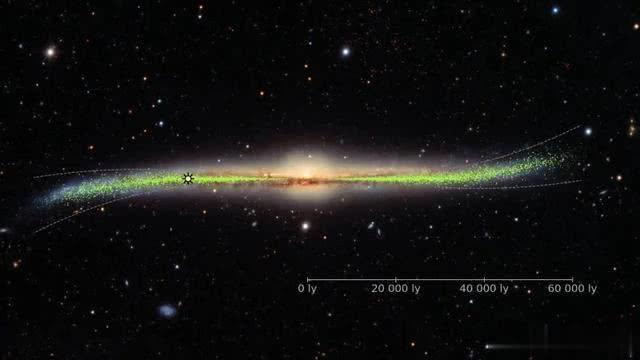 人类史上最精确银河系地图公布,科学家:扭曲程度让人难以置信-第3张图片-IT新视野