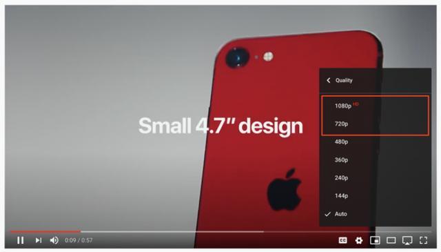 打脸优酷爱奇艺腾讯,油管宣布不在将720P分辨率的视频称为高清视频-第2张图片-IT新视野
