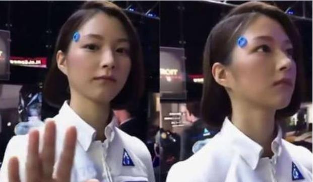 日本美女机器人横空出世,内部结构让人大开眼界,网友:太逼真了-第2张图片-IT新视野