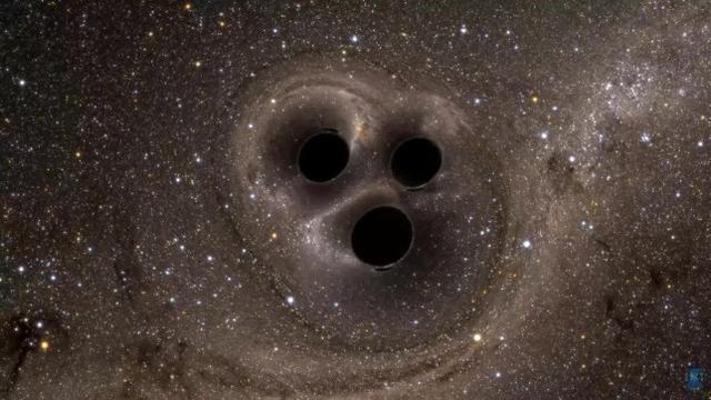 三黑洞系统的蝴蝶效应,暴露人类科学的落后,我们尚不能预测未来-第2张图片-IT新视野