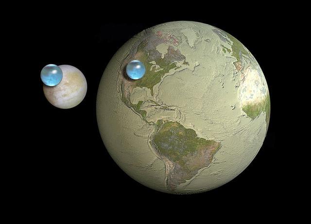 水资源并非地球独有,海洋在宇宙中很常见,生命是否也不唯一?-第3张图片-IT新视野