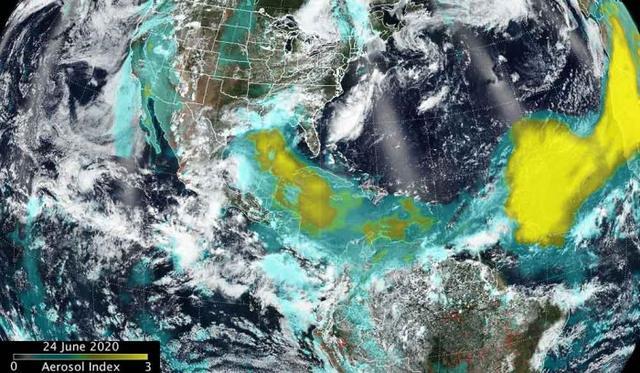 NASA撒哈拉沙漠新图像揭示沙尘覆盖规模之大-第2张图片-IT新视野