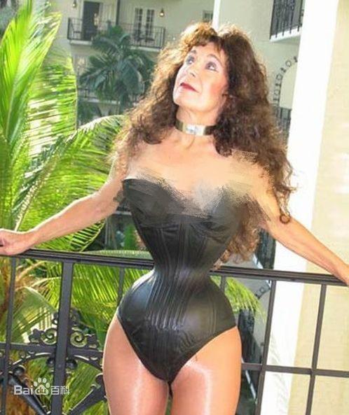 世界上腰最细的女人,卡吉詹可-第1张图片-IT新视野