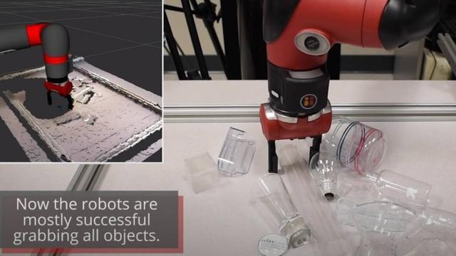 卡内基梅隆大学研究人员教会机器人拾取透明或反光的物体-第1张图片-IT新视野
