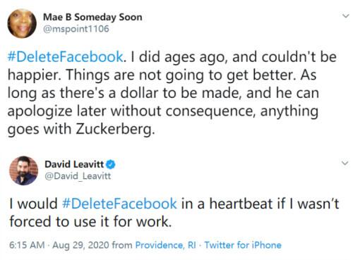 """""""删除Facebook""""登上美国热搜-第2张图片-IT新视野"""
